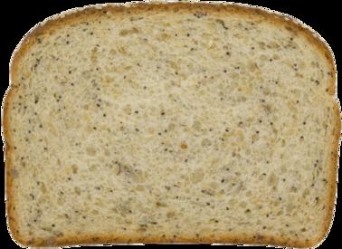 3-Seed Oatnut Bread Slice Image