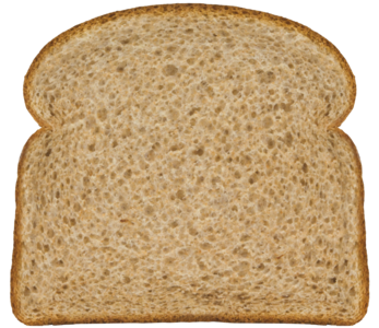Classic Soft 100% Whole Wheat Bread Slice Image