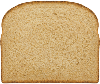 Organic Smooth Wheat Bread Slice Image