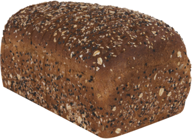 100% Whole Grain Naked Bread Loaf Image