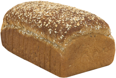 12 Grain Naked Bread Loaf Image