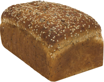 3-Seed Oatnut Naked Bread Loaf