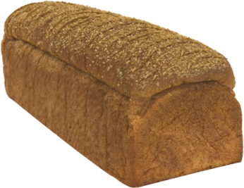 Classic Soft 100% Whole Wheat Naked Bread Loaf Image