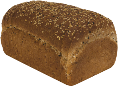 Healthy Multi-grain Naked Bread Loaf Image