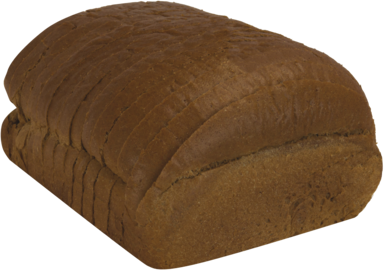 Dark Rye Naked Bread Loaf