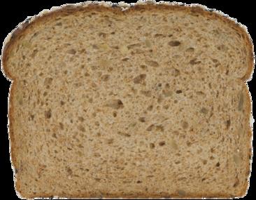 100% Whole Grain Bread Slice