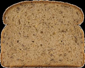 Healthy Multi-grain Bread Slice Image