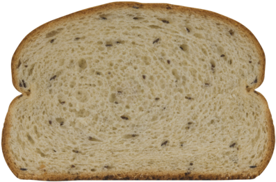 Jewish Rye Bread Slice Image