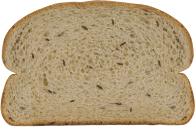 Russian Rye Bread Slice Image