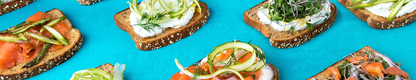 Open Faced Sandwiches