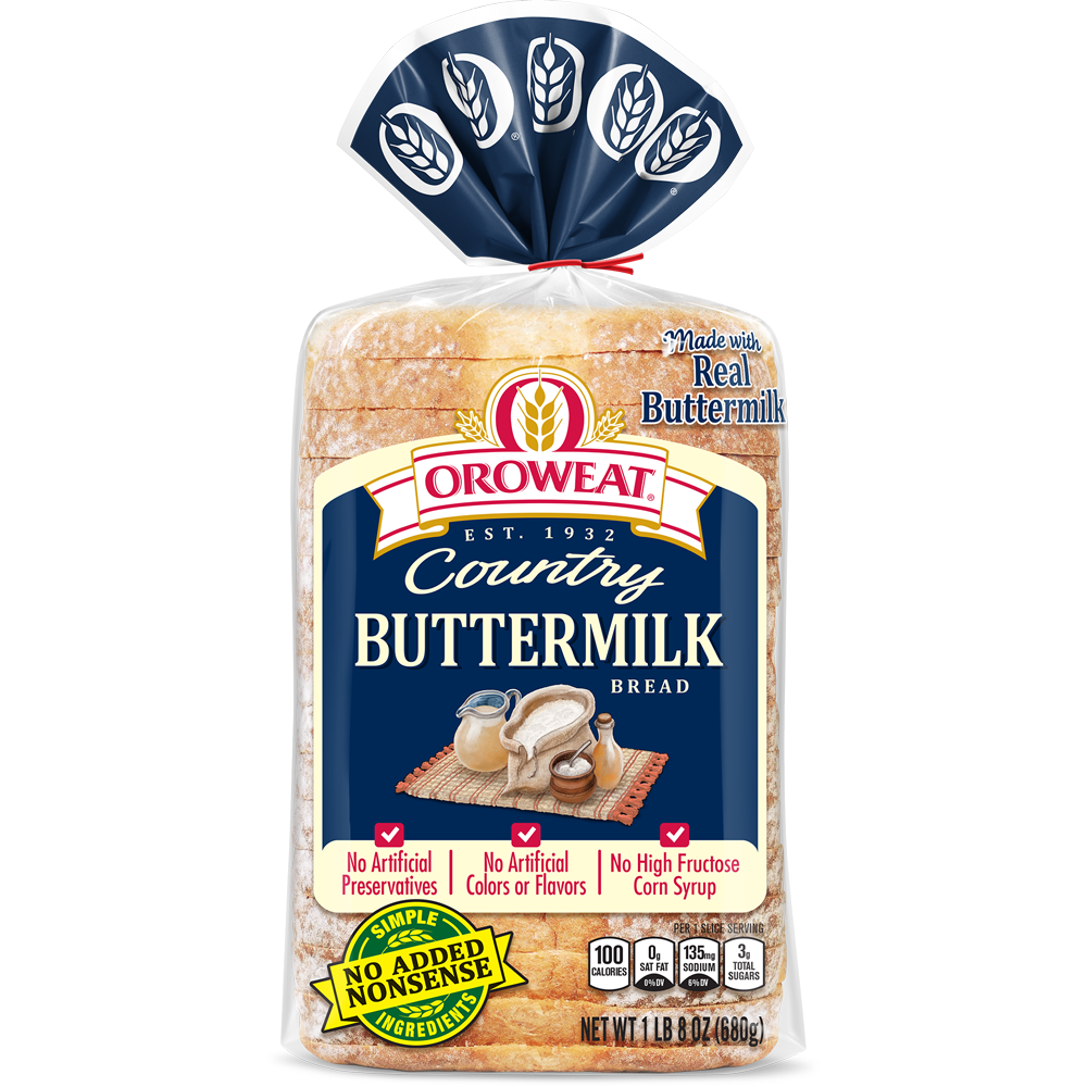 Oroweat Buttermilk Bread Package Image