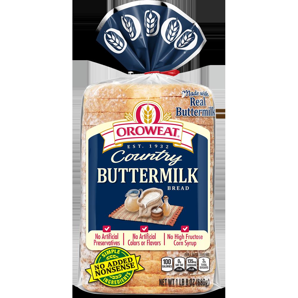 Oroweat Buttermilk Bread Package