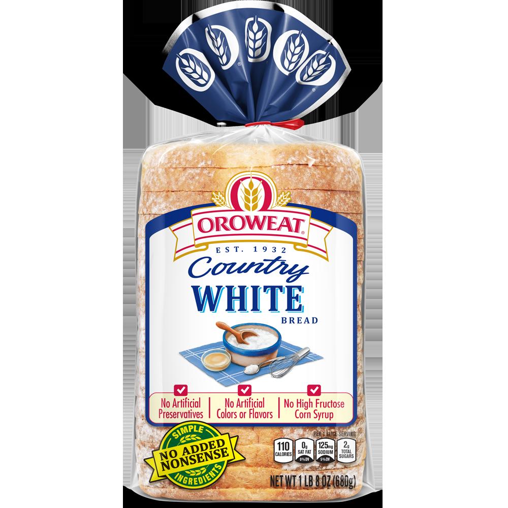 Oroweat White Bread Package