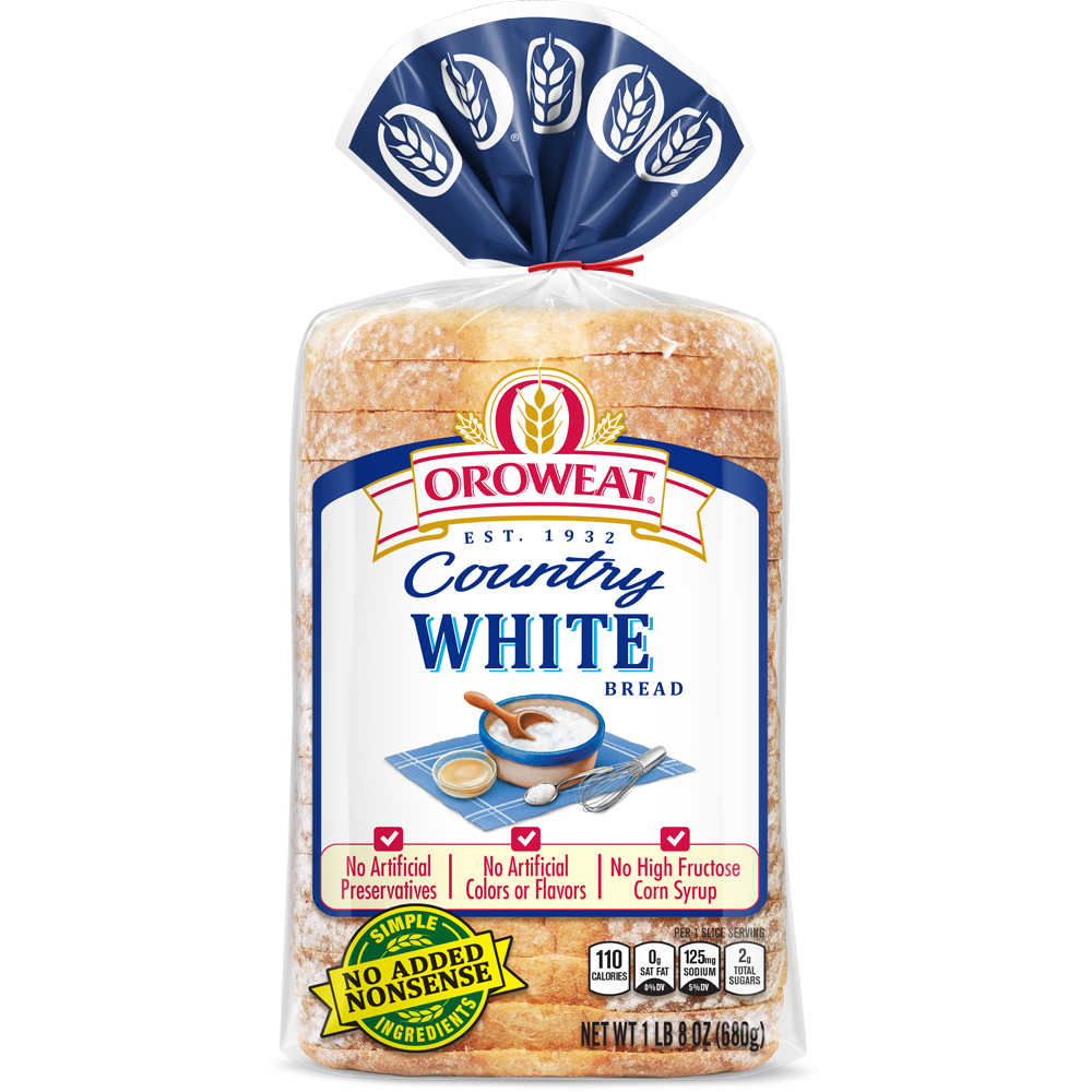 Oroweat White Bread Package