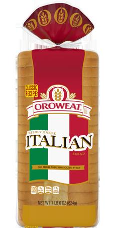 Oroweat Premium Breads Premium Italian