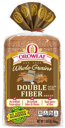 Oroweat Double Fiber Bread Package Image