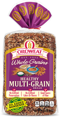Oroweat Healthy Multi-grain Bread Package Image