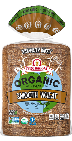 Oroweat Organic Smooth Wheat Bread Package