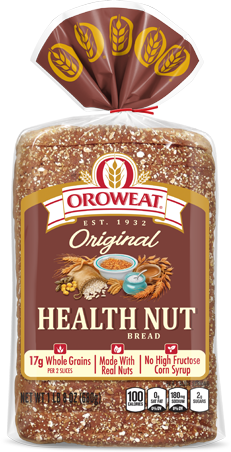 Oroweat Health Nut Bread Package Image