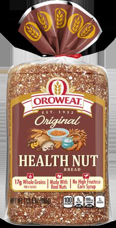 Oroweat Health Nut Bread Package Image