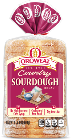 Oroweat Sourdough Bread Package Image