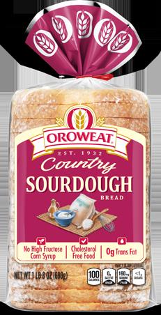 Oroweat Sourdough Bread Package Image