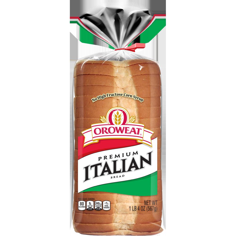 Oroweat Premium Italian Bread Package