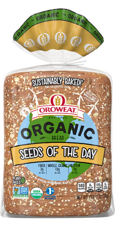 Oroweat Organic Seeds of the Day Package Image