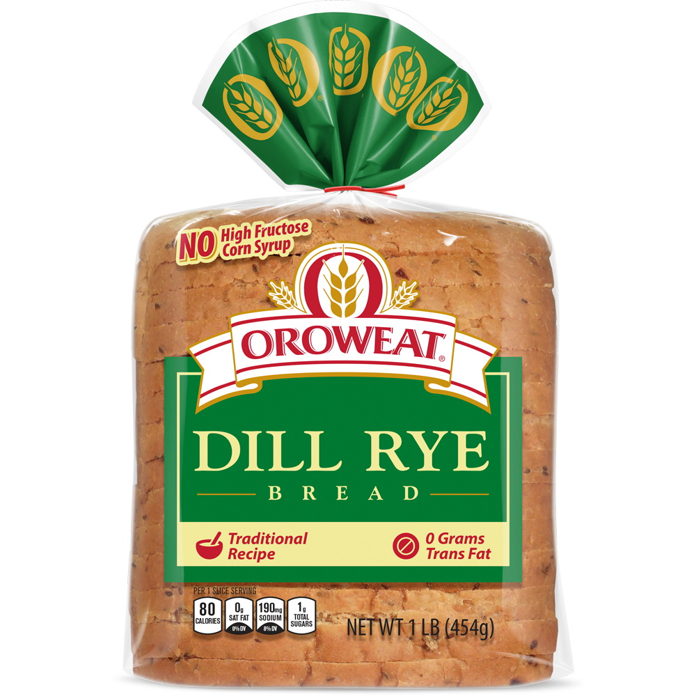 Oroweat Dill Rye Bread Package Image