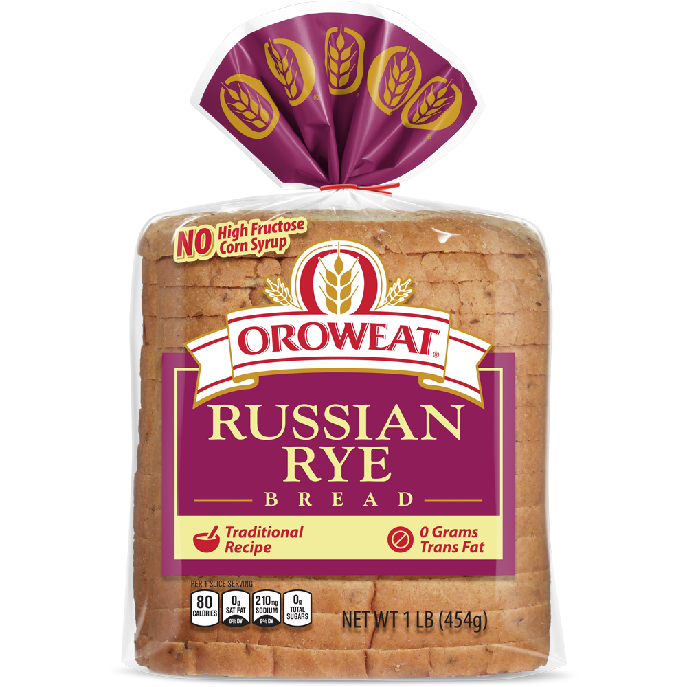 Oroweat Russian Rye Bread Package Image