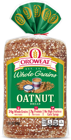 Oroweat Oatnut Bread Package Image