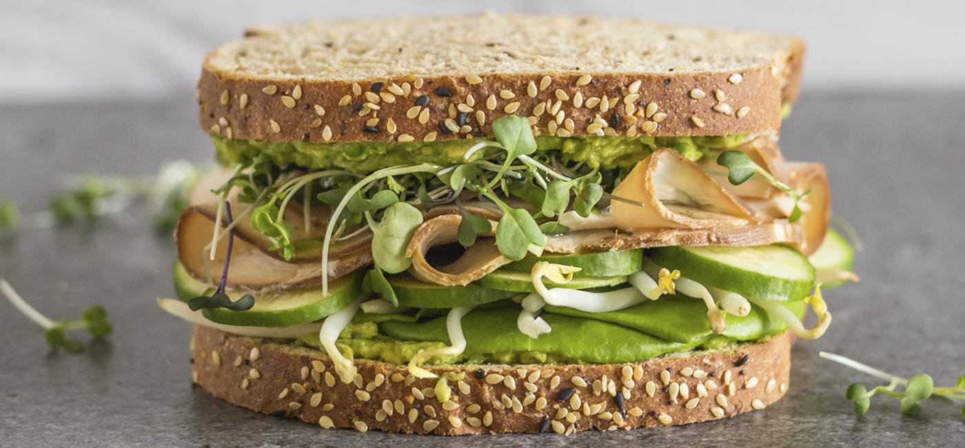 Imagen de la receta Sándwich de pavo