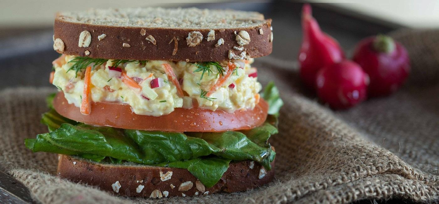 Egg-staordinary Salad Sandwich Recipe Image
