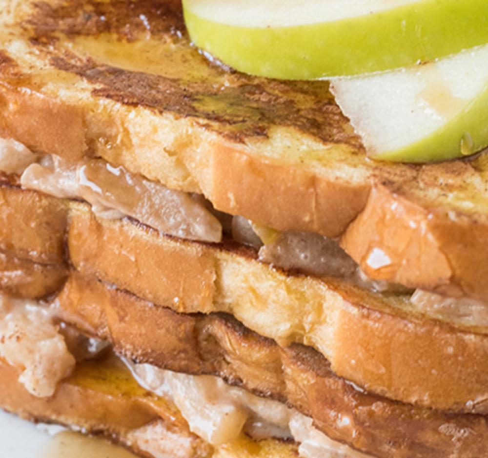 Cinnamon Apple Stuffed French Toast Recipe Image