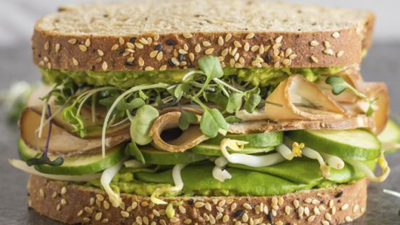 Turkey Green Goddess Sandwich Recipe Image