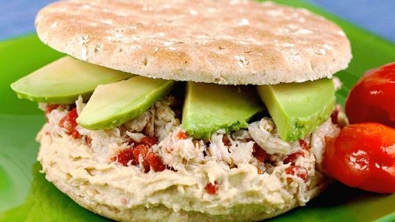 Pacific Crab Sandwich - Recipe Image