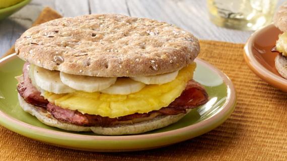 Bacon, Peanut Butter and Pineapple Hawaiian Whammy Sammie Recipe Image