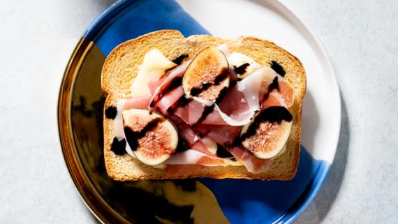 Fig and Brie Toast Recipe Image