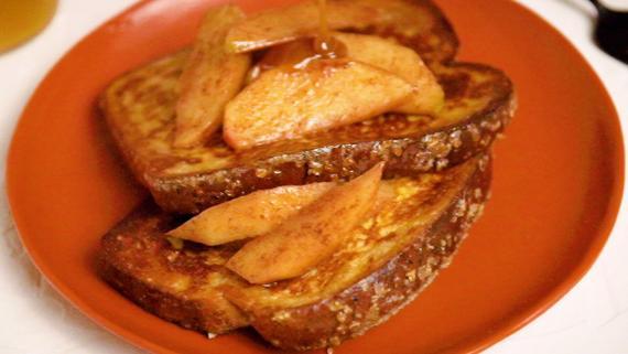 Apple Caramel French Toast Recipe Image
