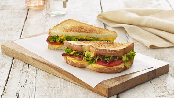 BLT Grilled Cheese Recipe Image