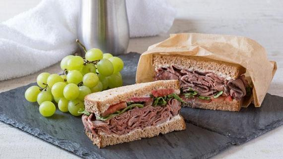 Post Workout Recovery Sandwich Recipe Image