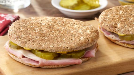 Quick & Easy Five Ingredient Cuban Sandwich recipe image