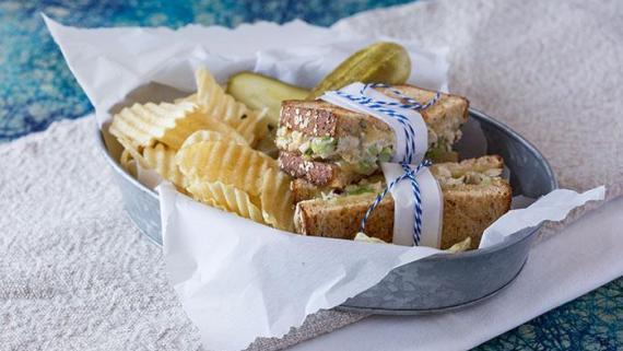 Roasted Chicken Salad Sandwich Recipe Image