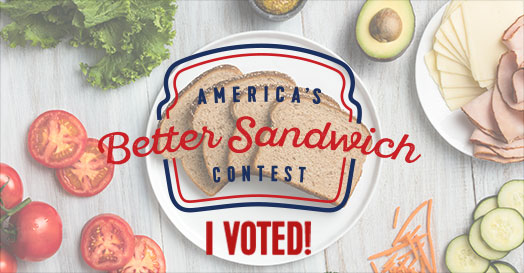 I Voted - America's Better Sandwich